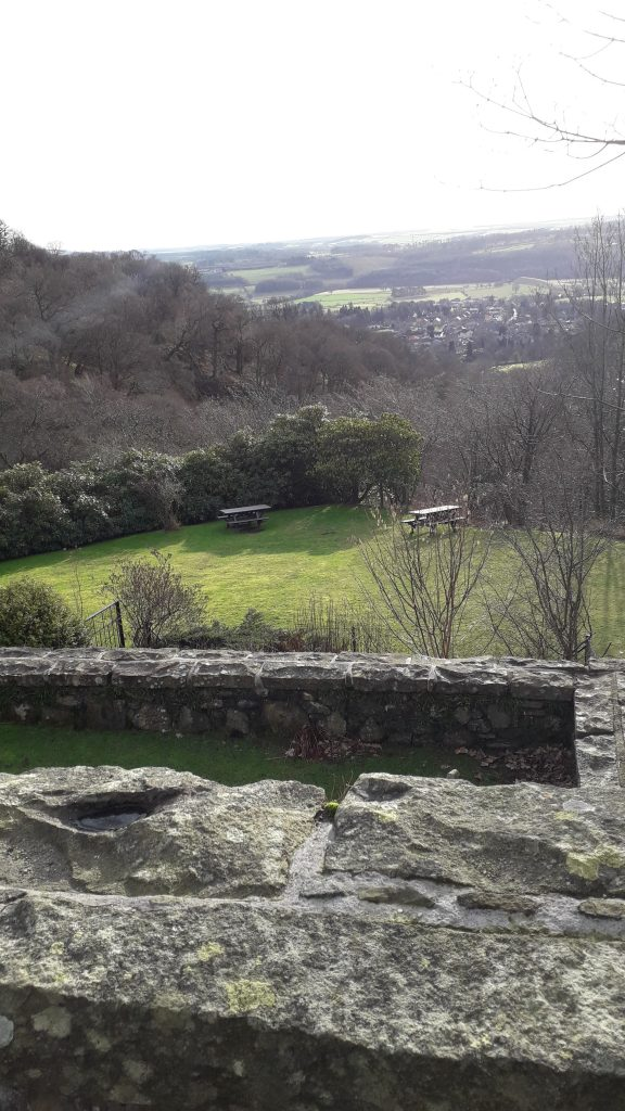 View from Castle Campbell, near Stirling